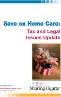 FREE guide with information and tips to help keep in-home care services more affordable.